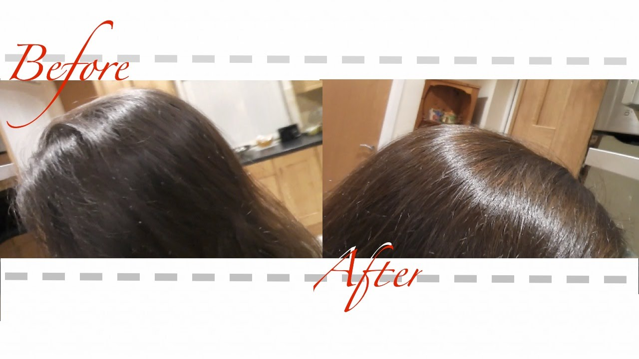 Henna Rouge Hair Dye On Dark Brown Hair Lush Youtube