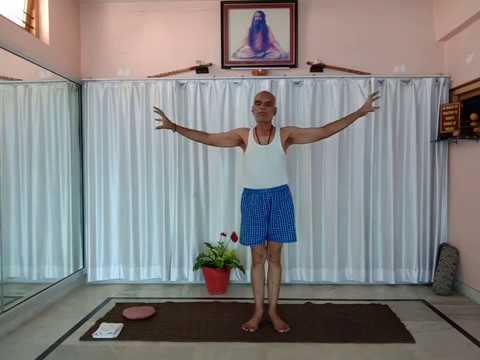 easy course of yoga hast sanchalan 5/14 lock down