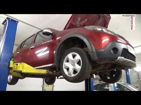 СТО SanReno ремонт автомобилей Ниссан и Рено