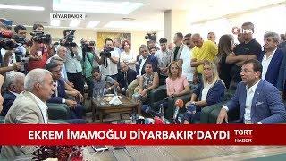 Ekrem İmamoğlu Diyarbakır'daydı