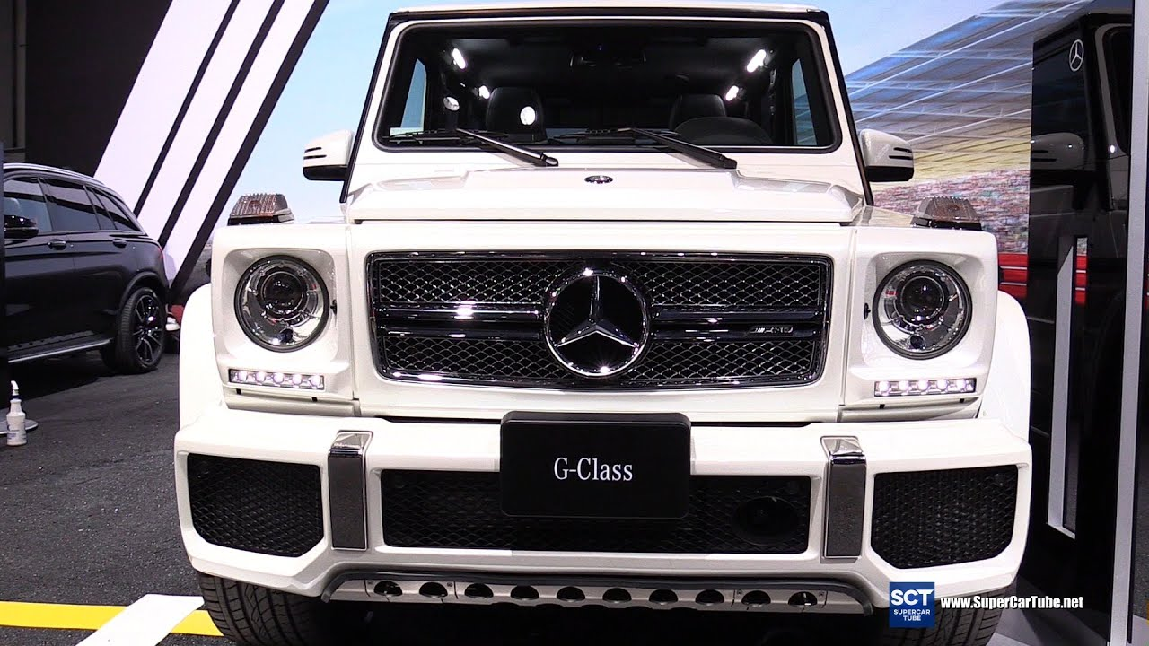 2016 mercedes benz g class g65 v12 exterior and interior for Mercedes benz g wagon v12