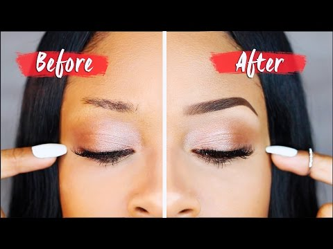 BOMB BROWS ➟ How To Get Perfect Eyebrows!