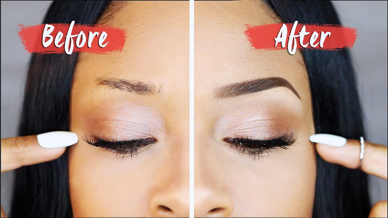 BOMB BROWS How To Get Perfect Eyebrows  YouTube