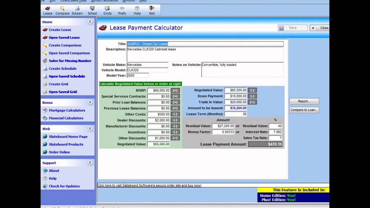 Car Lease Calculator >> Car Lease Calculator Car Lease Calculator Excel