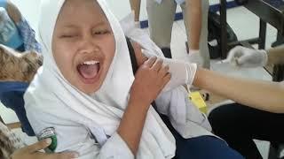 Imunisasi campak dan rubella smp prima mandala