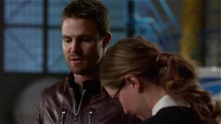 DC's Legends of Tomorrow 2x07 Barry, Oliver & Kara Cisco Mick - Crossover