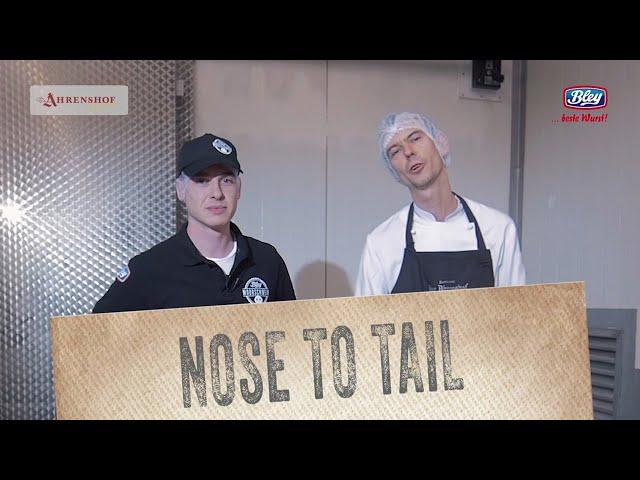 Nose To Tail - eine Kooperation von Bley, Moorschwein und dem Ahrenshof