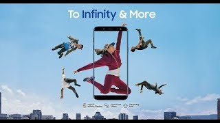 Samsung J6 Full ad song To Infinity and more By Ed Sheeran