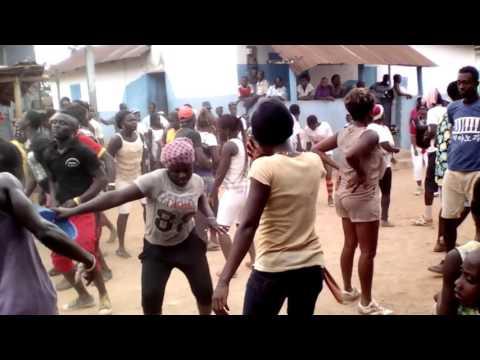 Ajumako Entumbil akwambo dance with keep fit.