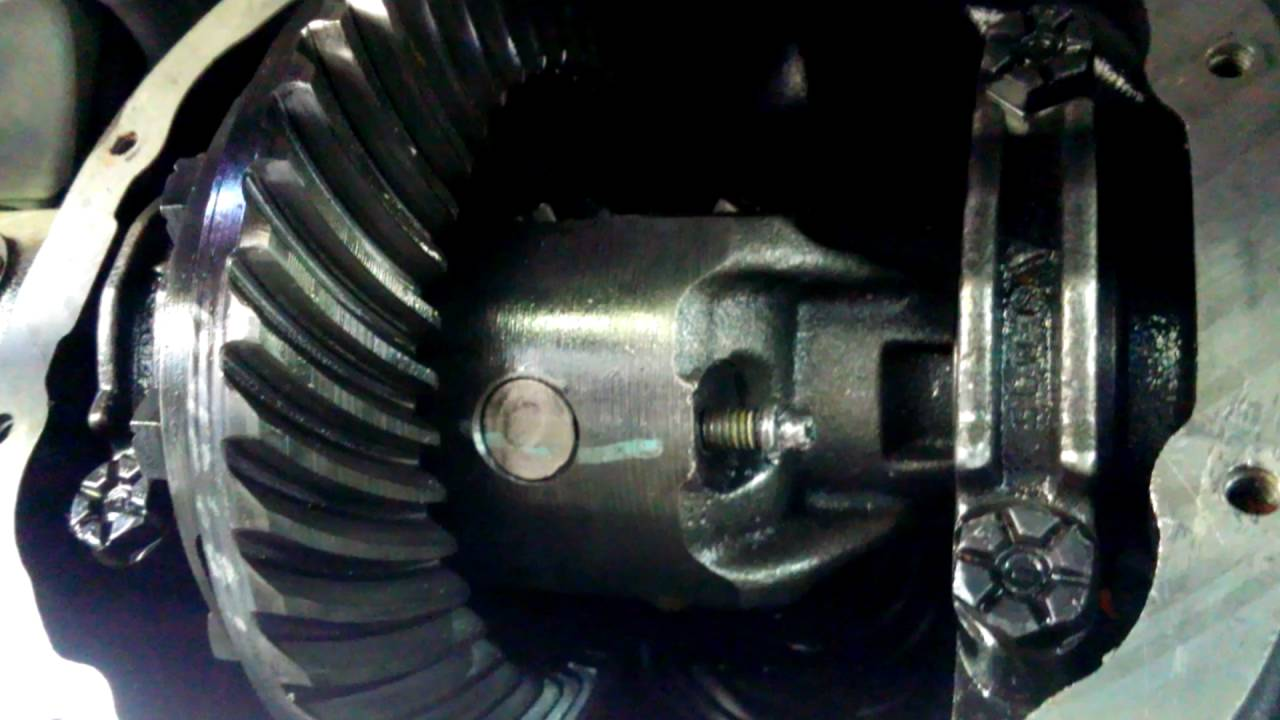Stripped bolt differential