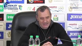 Conferinta de presa dupa meciul Astra Giurgiu - Dinamo Bucuresti (scor 4-1)   20.12.2018