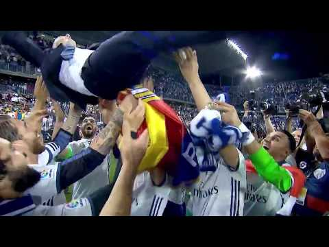 LIVE: REAL MADRID | Players Throwing Zinedine Zidane In The Air After Winning The Title