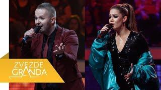 Stefan Petrovic Kosmajac i Milica Cikaric - Splet pesama - (live) - ZG - 18/19 - 08.06.19. EM 38