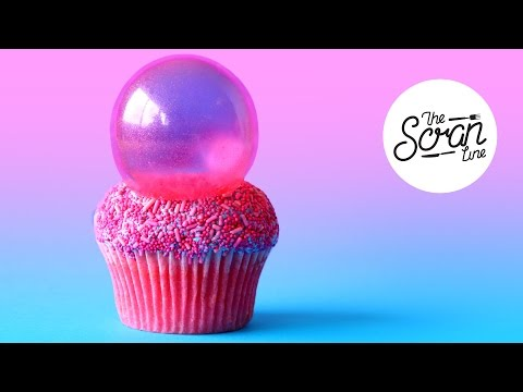 BUBBLEPOP ELECTRIC CUPCAKES + EXCITING NEWS!- The Scran Line