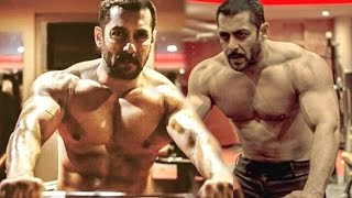 Salman Khan's Gym Bodybuilding Workout For Sultan Pic Leaked
