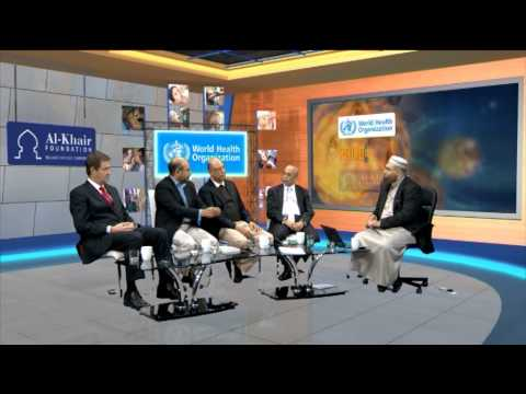 Imam Qasim with the World Health Organisation - Polio Eradication 12 02 2015 Part 3