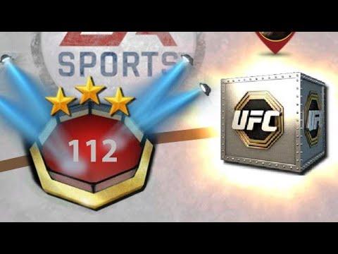 EA SPORTS UFC MOBILE - 5 бойцов за 112 Lvl карьеры.