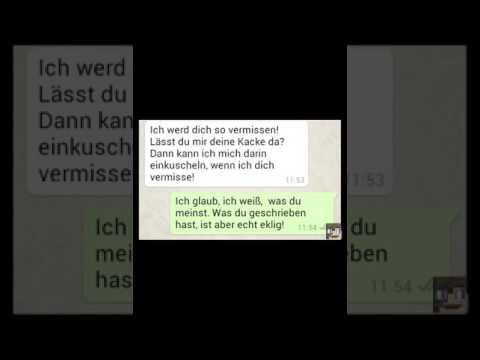 Whatsapp chats zum totlachen