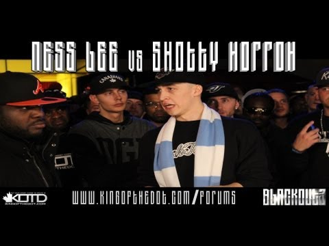 KOTD - Rap Battle - Ness Lee vs Shotty Horroh *Co-Hosted By Drake*