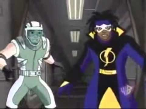 "Static Shock - Final Scene Ebon Streak In ""Power Outage"""