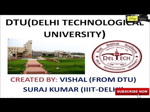 DTU (DCE) -  Average Package , Seats , Fee , Placement, Branches