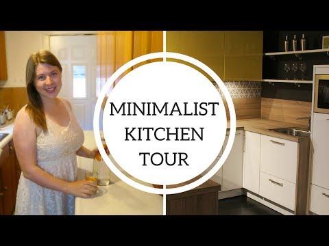 My Minimalist Kitchen Tour   Tips for a Minimal Kitchen