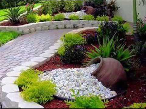 Jardim para area pequena ideias  estilo campestre #ProjetoParaMinhaCasa