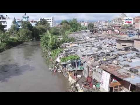 Flood at Bagmati River.