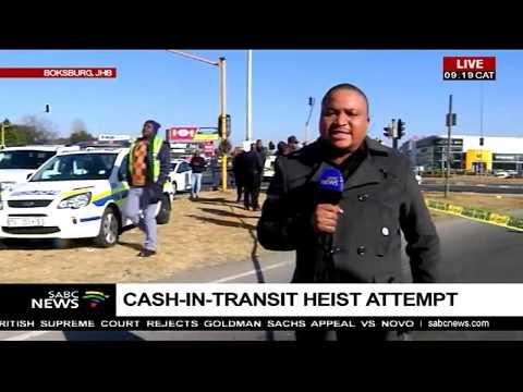 UPDATE: Boksburg attempted cash heist leaves 1 dead