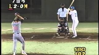 1994 伊良部秀輝 1   剛速球   試合終盤はこれぞ圧巻 thumbnail