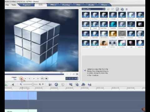شرح برنامج Ulead VideoStudio 10 الدرس الثاني