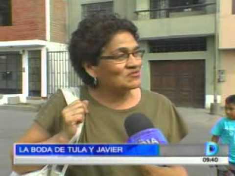 Domingo al Día - 181112 - La boda de Tula y Javier