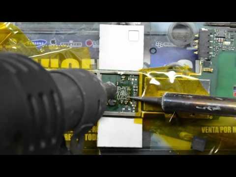 reparación Huawei Ascend G730 no enciende dead , consumo 120mA y se cae a cero cambio ic power