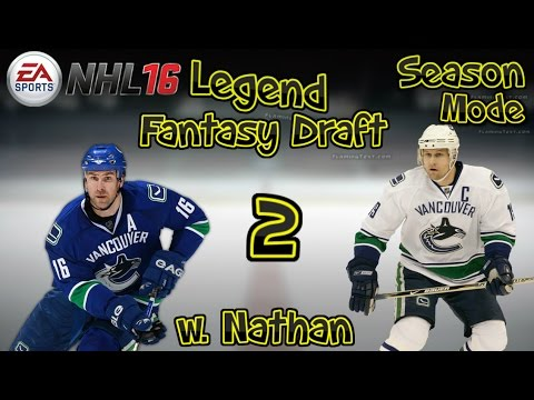 "NHL 16 Legend Season Mode (w.Nathan) ep.2 ""Trades/First Game"""