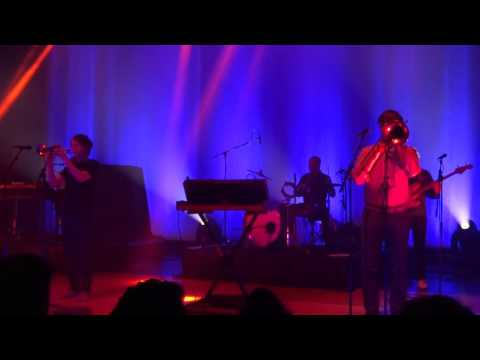 Beirut - In The Mausoleum - Live at Royal Oak Music Theater in Royal Oak, MI on 11-11-15