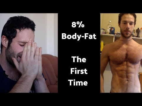 When I got to 8% Body-Fat the First Time...(Story Time)