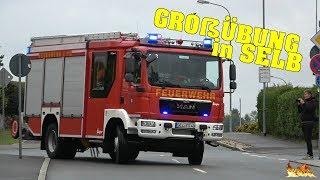 [Brand Krankenhaus + Alarmierung] Großeinsatz in Selb (Feuerwehr-Aktionswoche 2017)