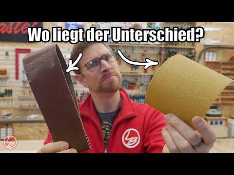 Lets Bastel zu Gast bei Klingspor #1| Wie wird Schleifpapier hergestellt?