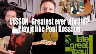 Is this the GREATEST VIBRATO ever? How to play what Clapton and Bonamassa tried to copy!