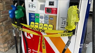 Tampa gas stations go dry amid Florida state of emergency