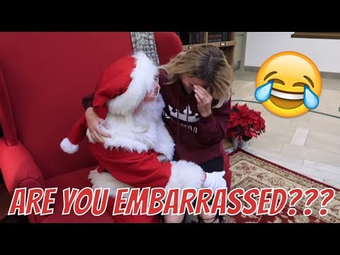 Embarrassing Kesley seeing Santa | Pre Birthday shopping