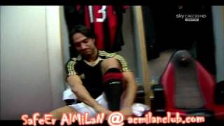 AC Milan vs Catania Changing room before the match clothing.mkv