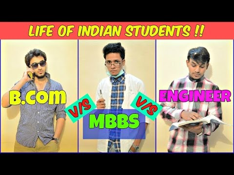 Funny Life Of Students l Doctor Engineer BCom l The Baigan Vines (Short Film)
