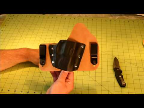 Theis Holster for Ruger SR9C with Crimson Laser Guard