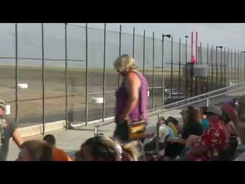 Route 66 Motor Speedway - Street Stock heat race 7-21-2012