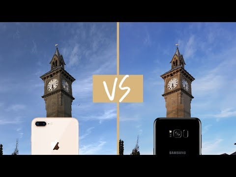 IPhone 8 Camera VS Galaxy S8 - Showdown!
