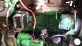 John Deere 830 3 cylinder tractor complete running diesel engine