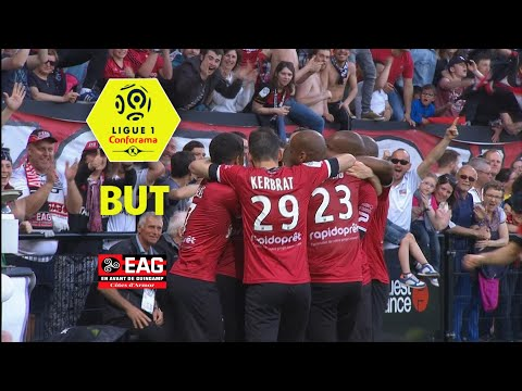 But Etienne DIDOT (34') / EA Guingamp - AS Monaco (3-1)  (EAG-ASM)/ 2017-18