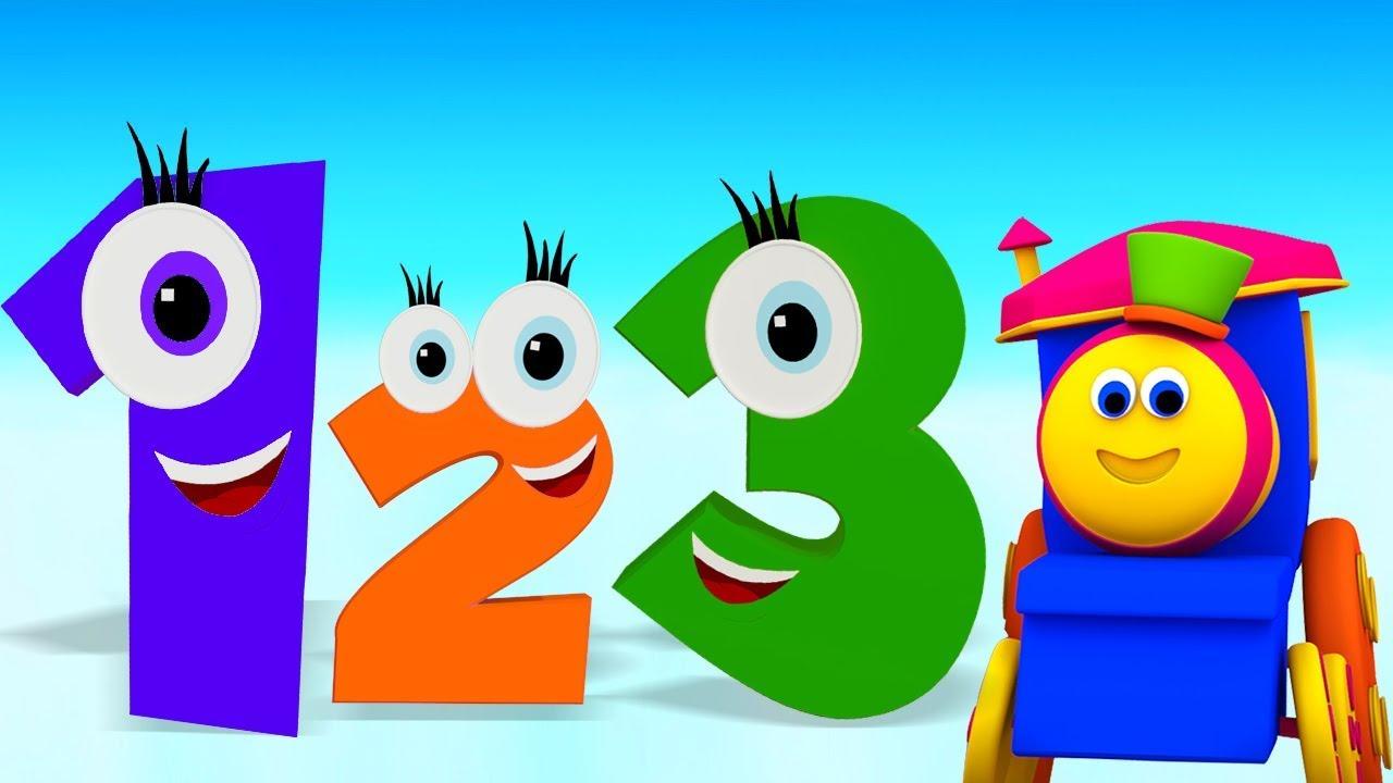 Bob The Train Numero Cancao Desenhos Animados Para Criancas Video Educativo Compilacao Youtube