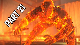 Metal Gear Solid 5 The Phantom Pain Walkthrough Part 21 - Man on Fire ( MGS5 Let